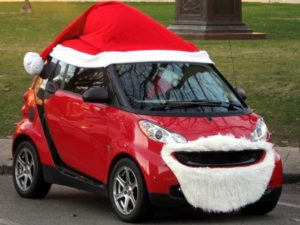 decorating your car for the holidays